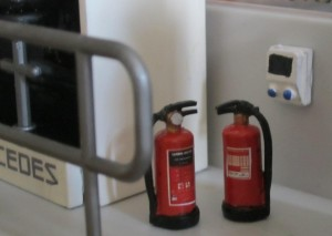 Finishing touch for Fire Extinguishers.