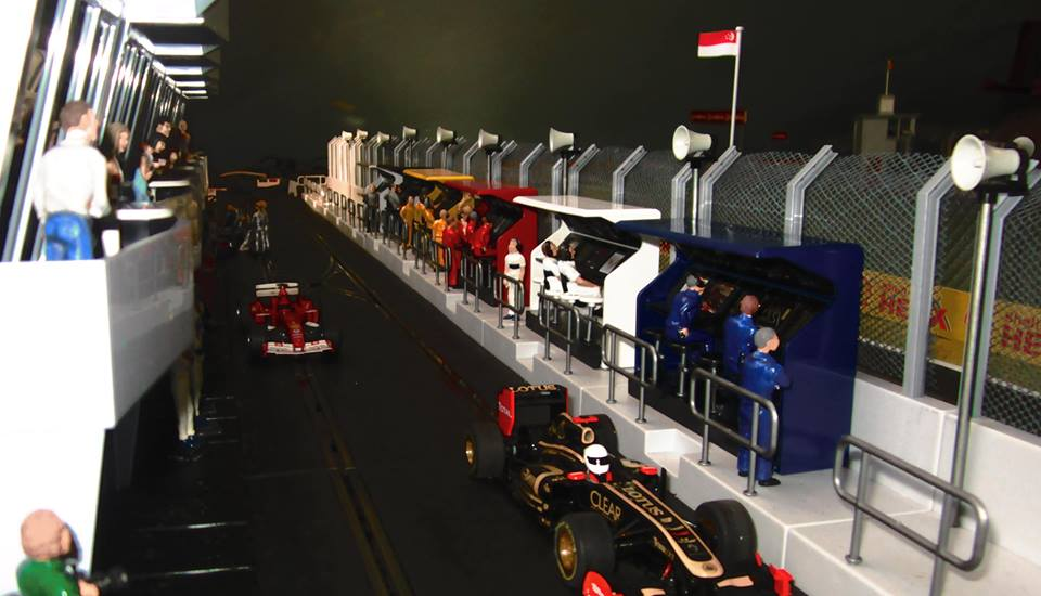 Slot Car Timing Stands