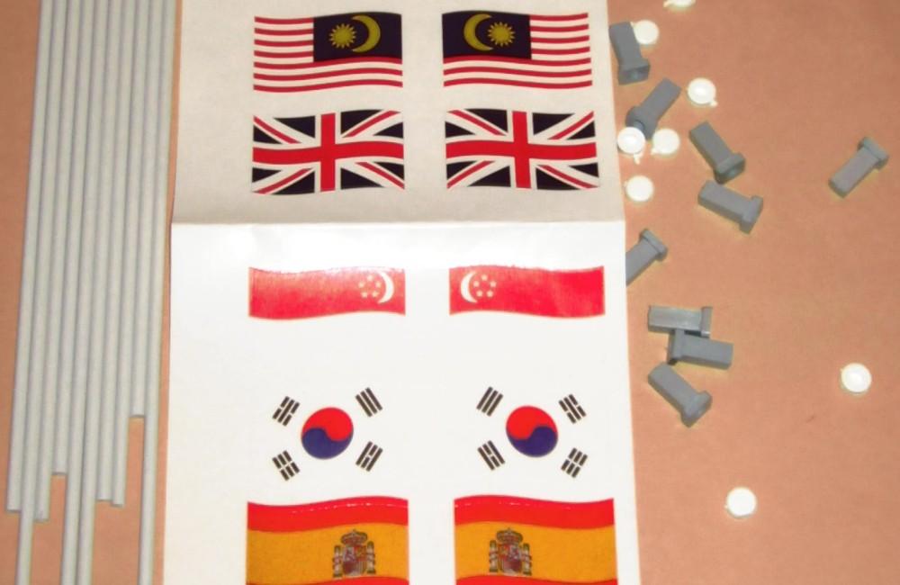 Flag pack B