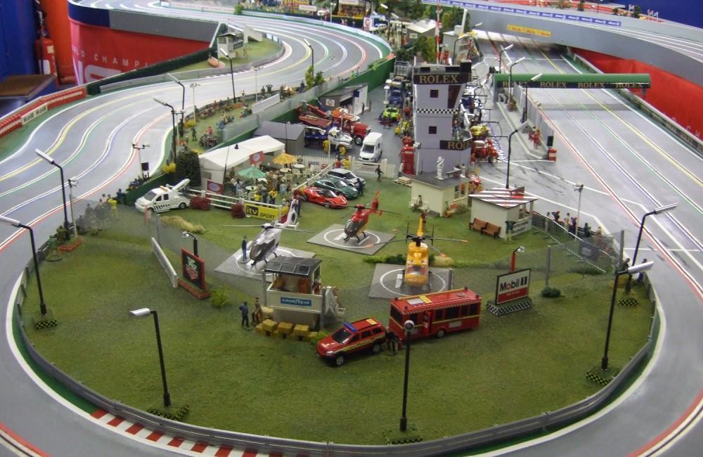 Presto Park slot car track