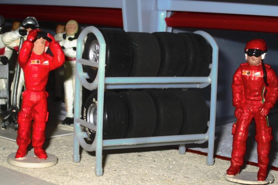 Tyre rack 3D print