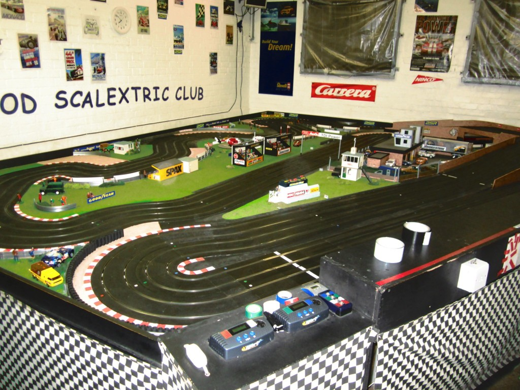 Bearwood Club track