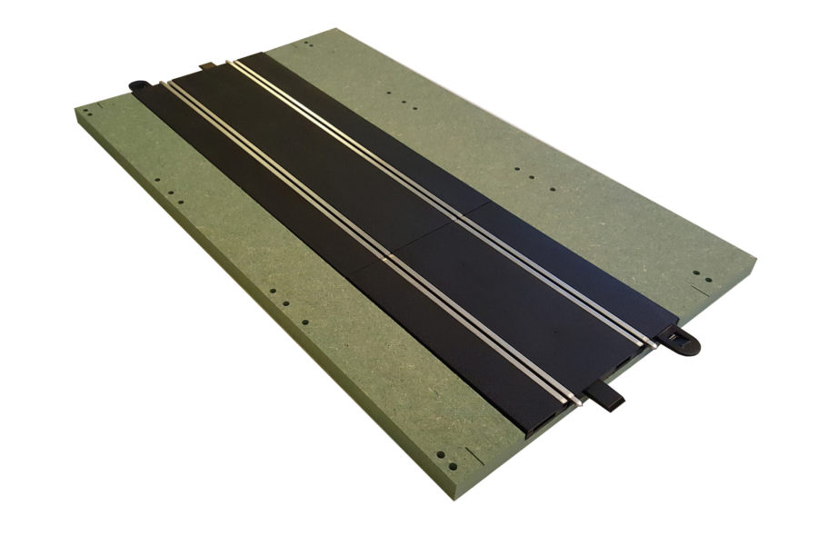 MTP – 5 : Full straight.  Bare panel with track.