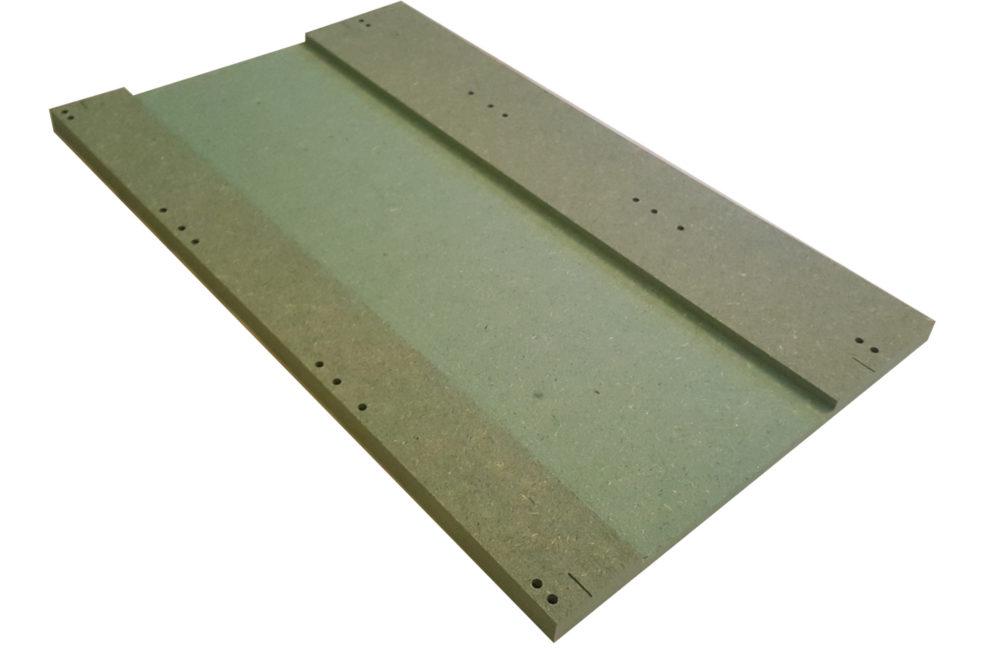 MTP - 5 : Full straight. Bare panel.