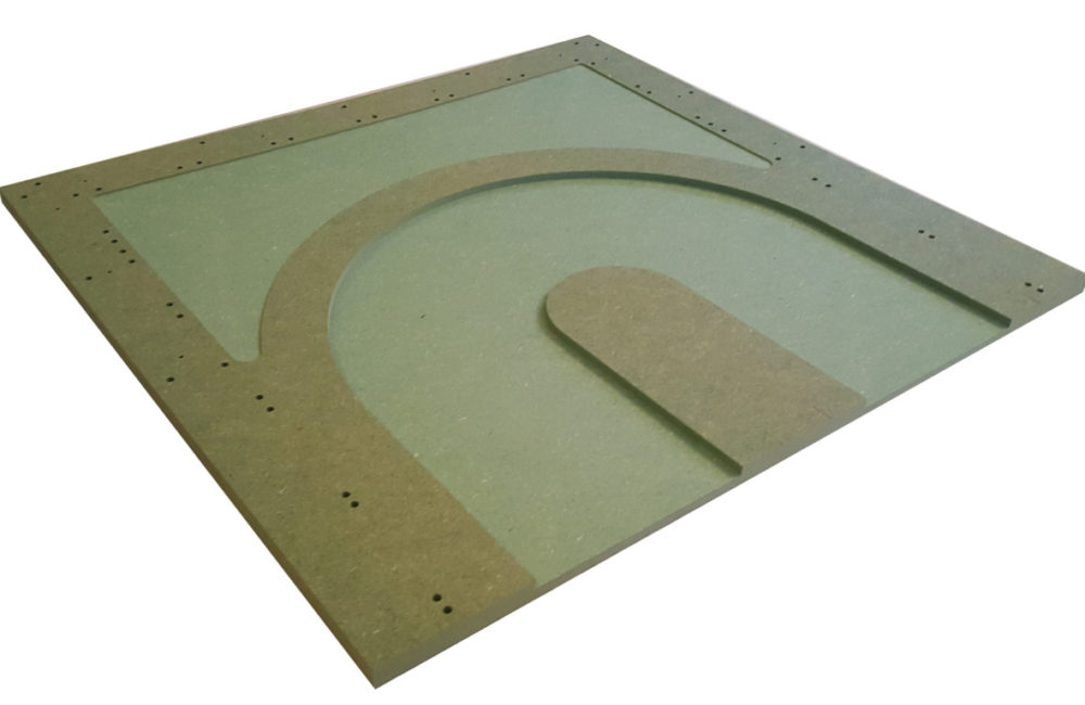 MTP - 6 : Hairpin. Bare panel.