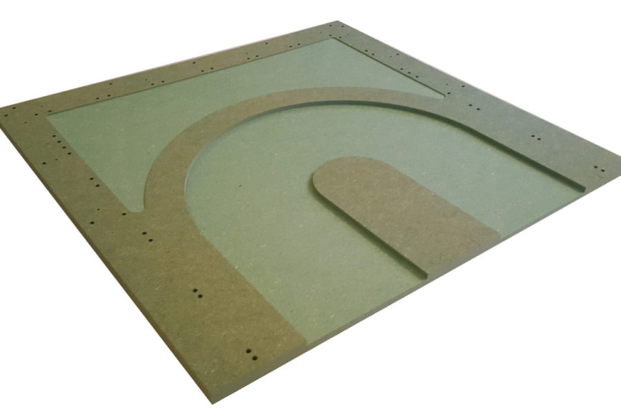 MTP – 6 : Hairpin.  Bare panel.