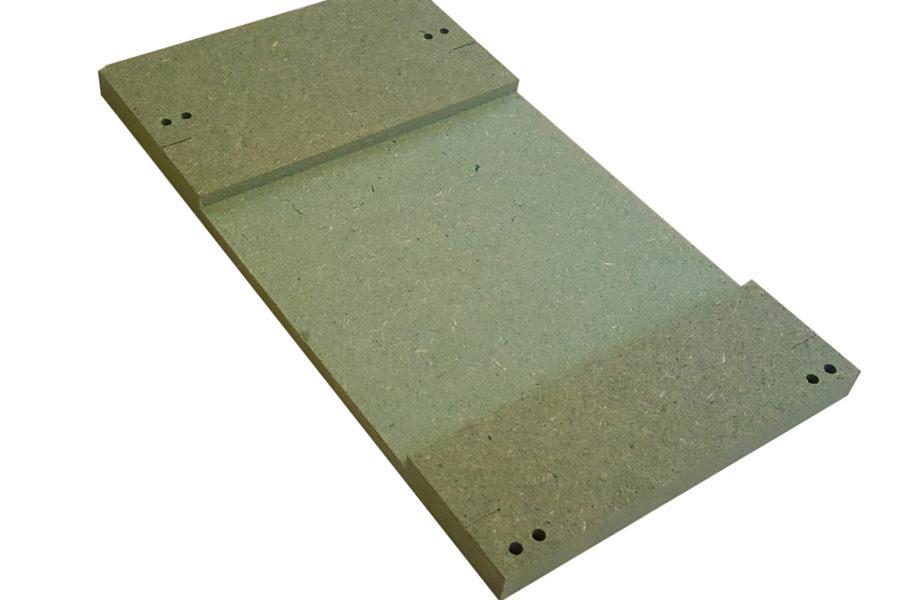 MTP – 3 : Half  straight.  Bare panel.
