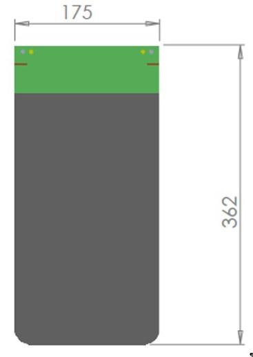 MTP - 1A : Dimensions