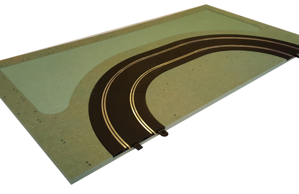 MTP - 7 : Parabolica. Panel with track.